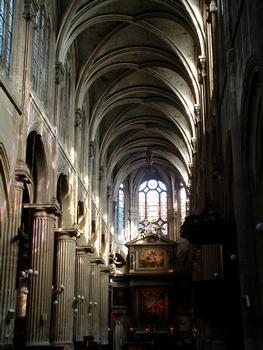 Paris - Eglise Saint-Nicolas-des-Champs (254, rue Saint-Martin) - Vaisseau central