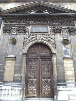 Eglise Saint-Martin-des-Champs - Portail latéral Sud