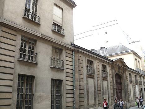 Paris 3 ème arrondissement - Archives nationales - Hôtel de Jaucourt
