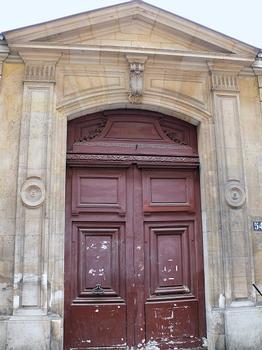 Paris 3 ème arrondissement - Archives nationales - Hôtel de Jaucourt - Portail