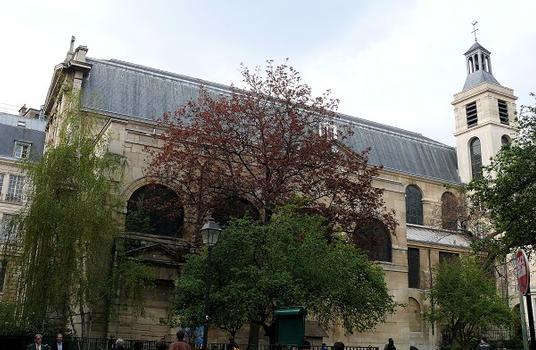 Paris 3ème arrondissement - Eglise Notre-Dame des Blancs-Manteaux
