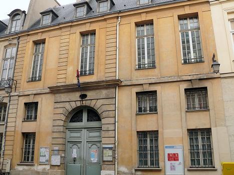 Paris 3 ème arrondissement - Hôtel de Montrésor, n°52 rue de Turenne