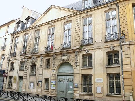 Paris 3 ème arrondissement - Hôtel de Montrésor, n°54 rue de Turenne