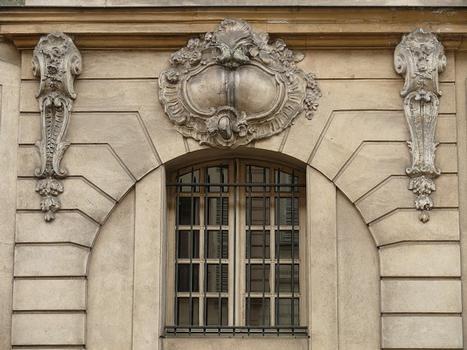 Paris 3 ème arrondissement - Hôtel de Montrésor, n°54 rue de Turenne - Détail