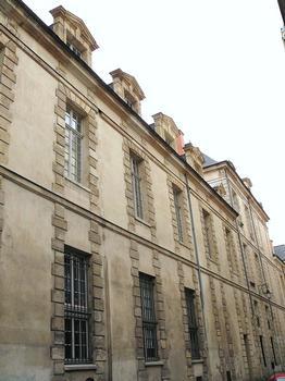 Paris 3ème arrondissement - Hôtel d'Hozier - Façade sur la rue de Debelleyme