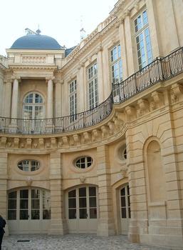 Paris - Hôtel de Beauvais (Cour administrative d'appel de Paris) - Façade sur la cour
