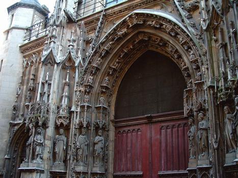 Paris - Eglise Saint-Merri - Portail occidental