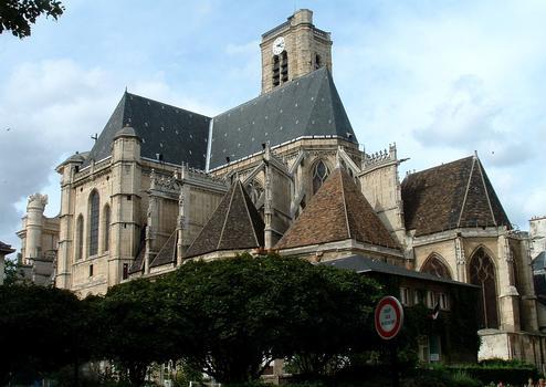 Paris - Eglise Saint-Gervais-Saint-Protais - Vu du chevet