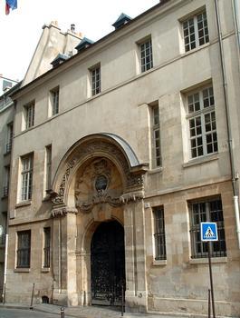 Paris - Hôtel de Châlon-Luxembourg - Façade sur la rue Geoffroy-l'Asnier