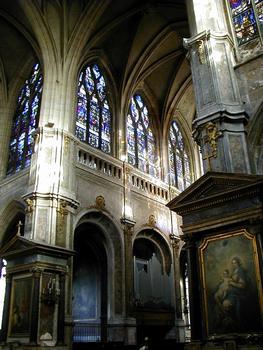 Paris - Eglise Saint-Merri - Transept et choeur