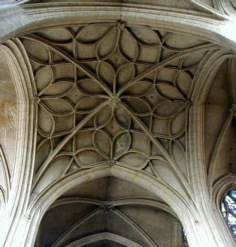 Paris - Eglise Saint-Merri - Voûte de la croisée du transept