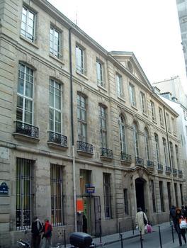 Hôtel Le Rebours - Façade sur la rue Saint-Merri modifiée par Thierry Le Rebours en 1695