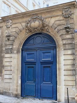 Paris 4ème arrondissement - Hôtel de la Tour du Pin
