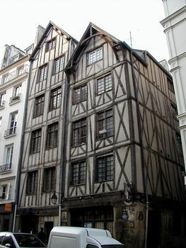 Fachwerkbau der 11 & 13 rue François Miron, Paris