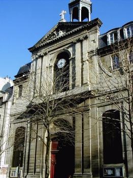 Paris 4ème arrondissement - Eglise évangélique luthérienne des Billettes