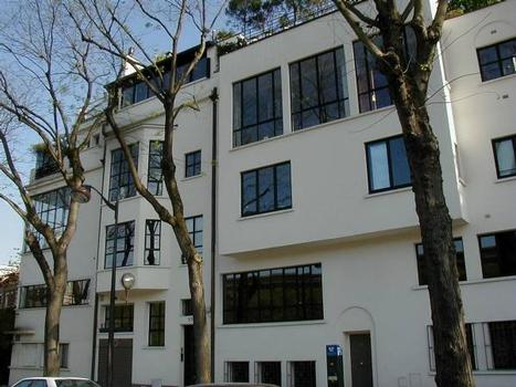 53, 55 et 57 avenue Reille, Paris.