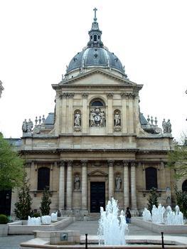 Chapelle de La Sorbonne - Façade sur la place de La Sorbonne