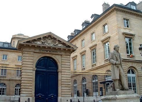 Collège de France, Paris.