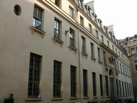 Paris - 5ème arrondissement - Collège des Irlandais - Façade sur la rue des Irlandais : Paris - 5 ème arrondissement - Collège des Irlandais - Façade sur la rue des Irlandais