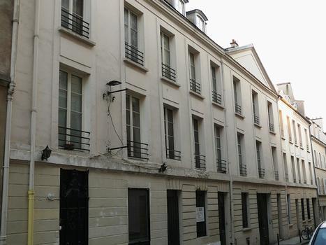 Paris - 5 ème arrondissement - Ancienne caserne de Gardes-Françaises
