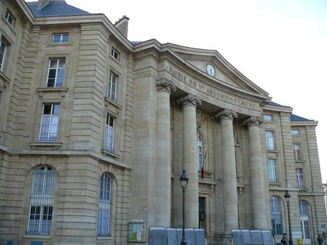 Paris - 5ème arrondissement - Mairie du 5ème arrondissement