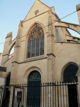 Paris 5 ème arrondissement - Eglise Saint-Médard - Façade