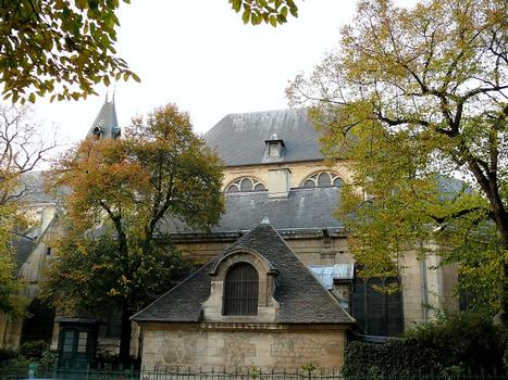 Paris 5 ème arrondissement - Eglise Saint-Médard