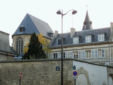 Paris 5ème arrondissement - Eglise Saint-Médard - Chevet