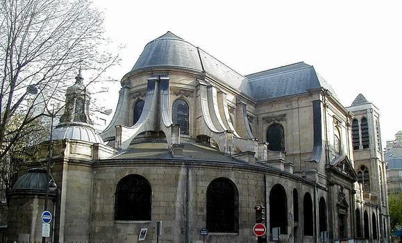 Paris - Eglise Saint-Nicolas-du-Chardonnet