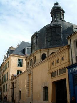 Paris - Ancienne académie de chirurgie (5, rue de l'Ecole-de-Médecine) - Ensemble