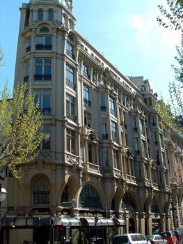 Immeuble Hennebique - 1, rue Danton - Ensemble