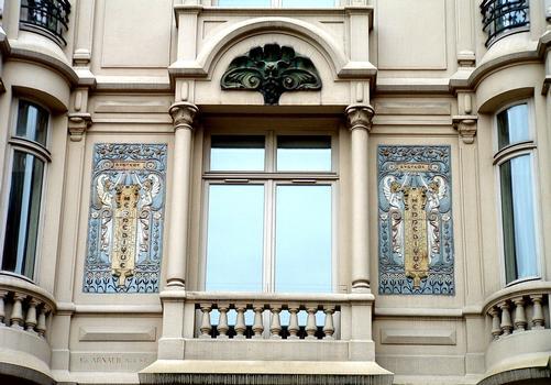 Immeuble Hennebique - 1, rue Danton - Décor