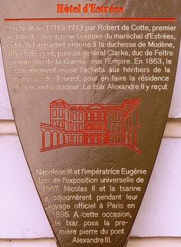 Paris - Grand Hôtel d'Estrées