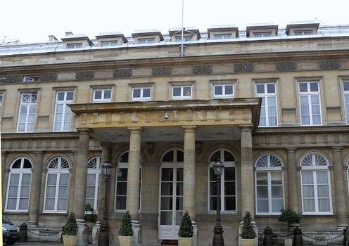 Paris 7ème arrondissement - Ambassade de Pologne - Hôtel de Monaco