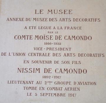 Musée Nissim-de-Camondo, Paris