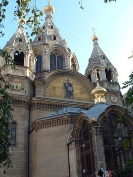 Cathédrale Saint-Alexandre-Nevski, Paris