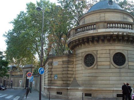 Hôtel Salomon de Rothschild - Mur de clôture côté rue Berryer