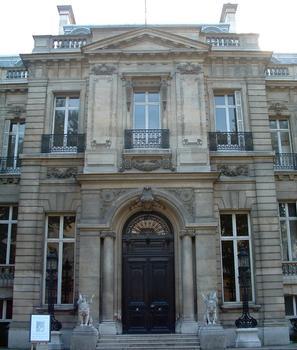 Hôtel Salomon de Rothschild - Façade côté cour
