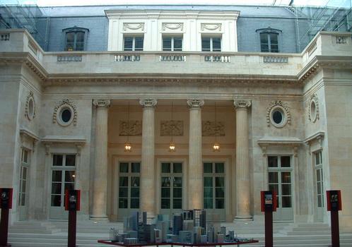 Hôtel Alexandre - Façade sur cour
