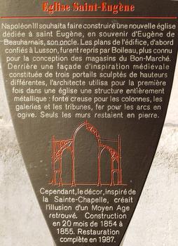 Eglise Saint-Eugène, Paris