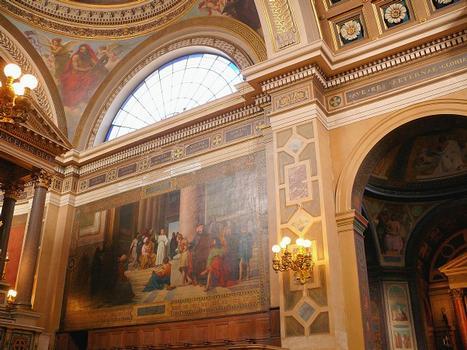 Paris 9ème arrondissement - Eglise Notre-Dame de Lorette - Décoration du choeur
