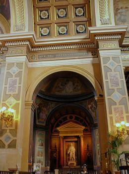Paris 9ème arrondissement - Eglise Notre-Dame de Lorette - Chapelle du bras droit du transept : Paris 9 ème arrondissement - Eglise Notre-Dame de Lorette - Chapelle du bras droit du transept