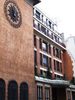 Paris 9ème arrondissement - Central téléphonique «Provence» construit en 1912 par François Lecoeur : Paris 9 ème arrondissement - Central téléphonique «Provence» construit en 1912 par François Lecoeur