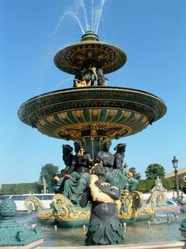 Place de la Concorde, ParisFontaine Sud