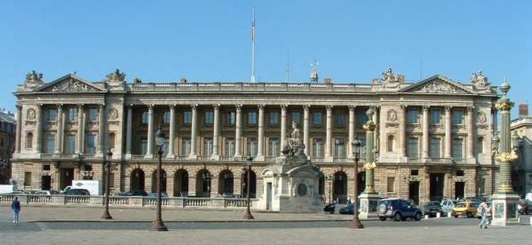 Place de la Concorde, Paris Hôtel de la Marine (ancien Garde-meubles royal) : Place de la Concorde, Paris  Hôtel de la Marine (ancien Garde-meubles royal)