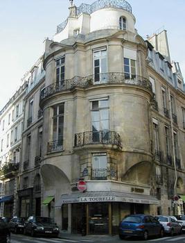 Hôtel de Jaucourt (Hôtel de Portalis), Paris.