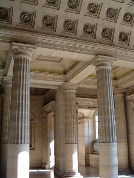 Paris - Hôtel de la Monnaie - Décoration de l'entrée