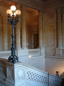 Hôtel de la Monnaie, Paris. Escalier d'honneur