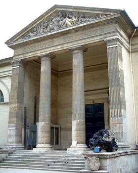 Paris - Museum National d'Histoire Naturelle - Jardin des plantes - Galerie de minéralogie par Rohault de Fleury (1836) - Entrée