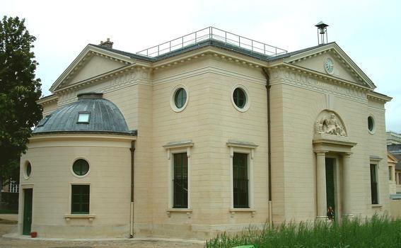 Paris - Museum National d'Histoire Naturelle - Jardin des plantes - Grand amphithéâtre par Edme Verniquet (1787-1788) et Molinos (1794)